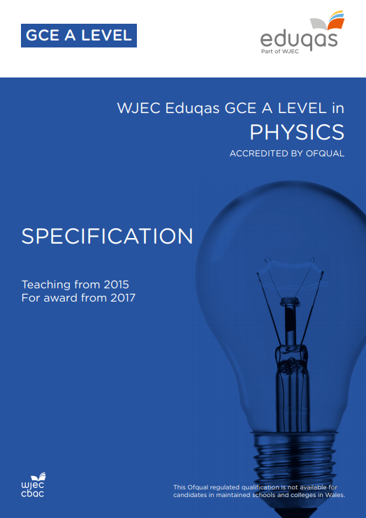 A Level Physics Specification