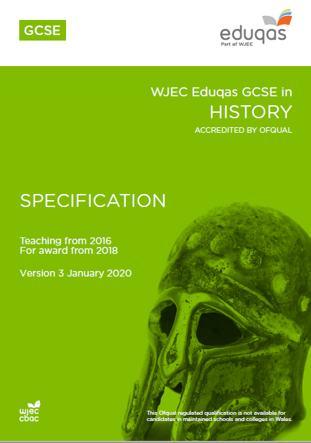 GCSE History Specification